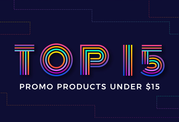 Top 15 Promo Products Under 15