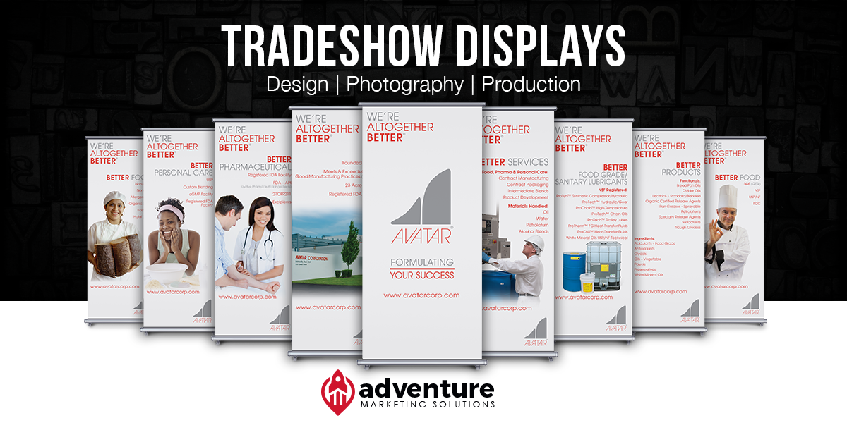 Project Recap: Avatar Tradeshow Displays
