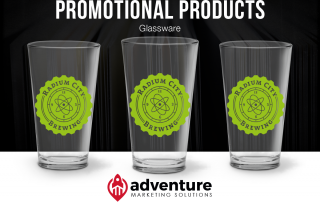 Project Recap Radium City Brewing Pint Glasses