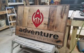 Check Out Our Cool New Sign Thumb