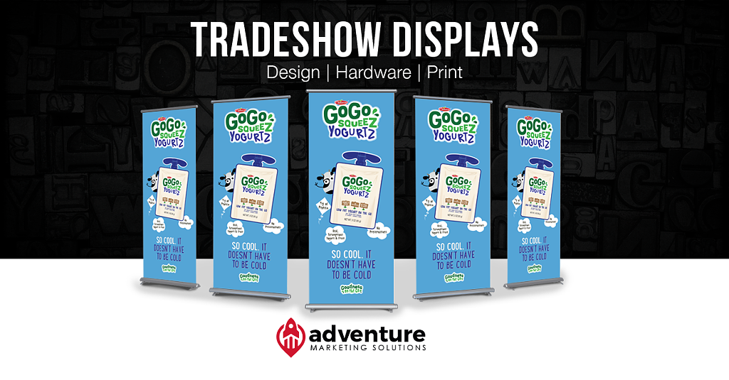 Project Recap GoGo Squeez Banner Stands