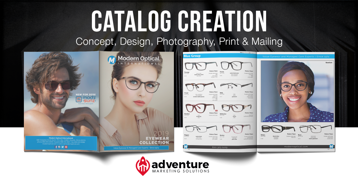 Project Recap: Modern Optical International Catalog
