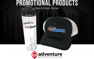 Project Recap PetSmart Hats Water Bottles