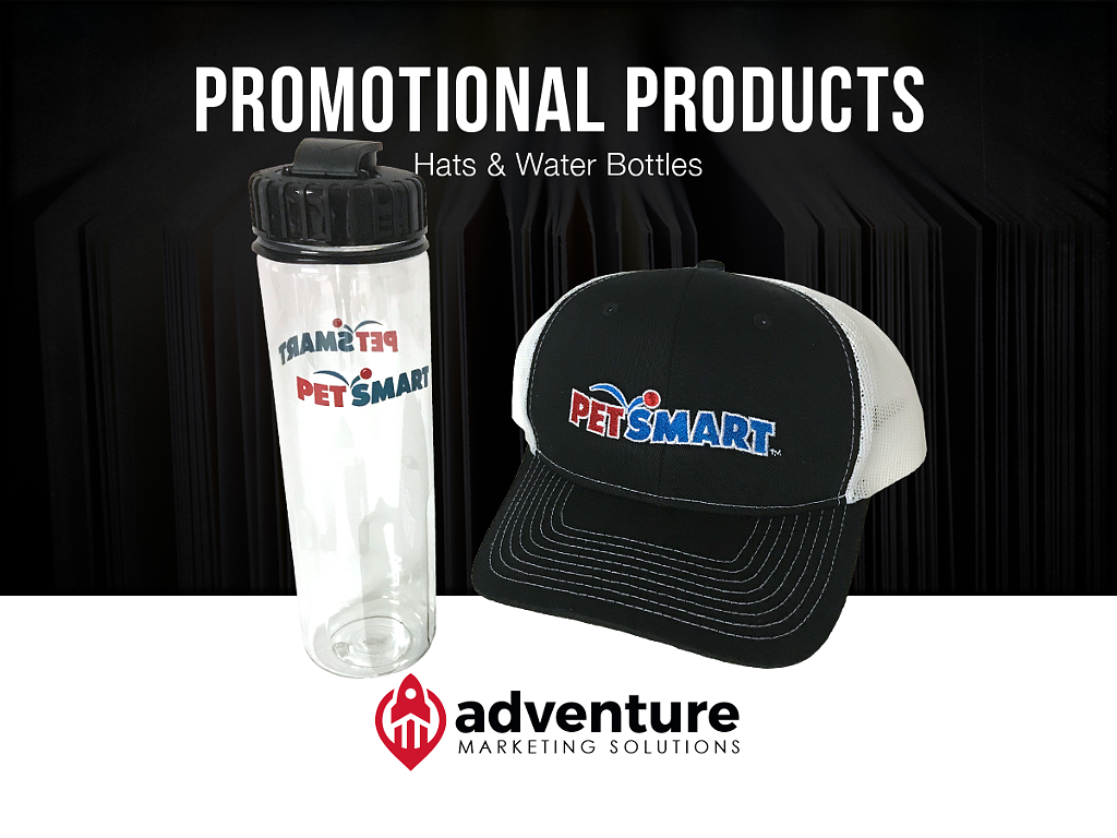 Project Recap: PetSmart Hats & Water Bottles