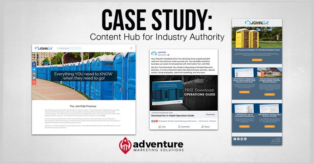 Case Study JohnTalk Content Hub