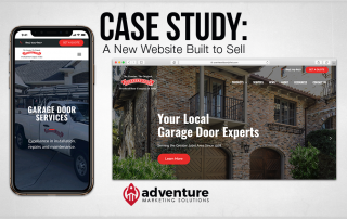 Case Study Overhead Door Company of Joliet New Website