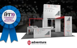 Adventure-Designed Tradeshow Booth Chosen as Standout Exhibit at IFT19