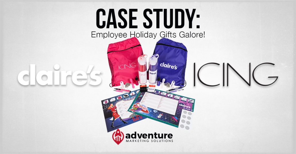 Case Study Claire's & Icing Holiday Promotion
