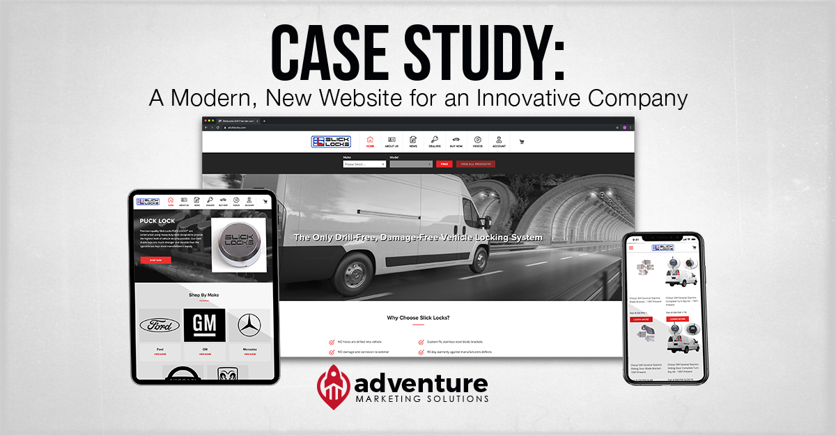 Case Study: Slick Locks Website