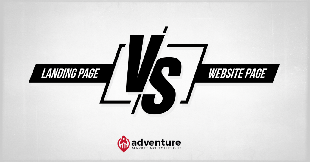 Key Differences Between a Landing Page and a Website Page
