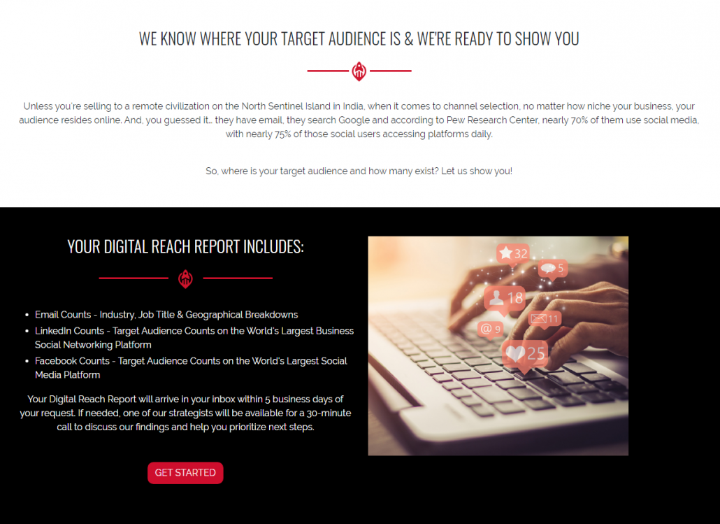 Expanded Landing Page Example