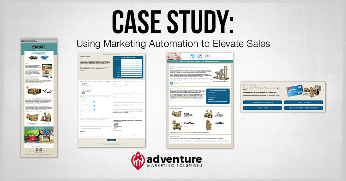 Case Study: Dekker Vacuum Marketing Automation