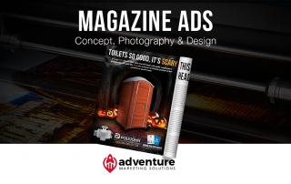 Project Recap PolyJohn Magazine Ads